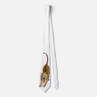 The Big Stretching Bengal Tiger Tie