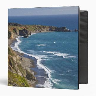 The Big Sur coastline in California, USA Vinyl Binder