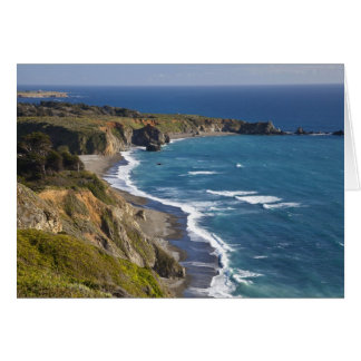 The Big Sur coastline in California, USA Greeting Card