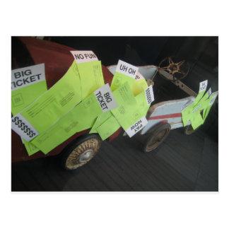 The Big Ticket Machine Postcard