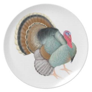 The Big Tom Turkey Plate