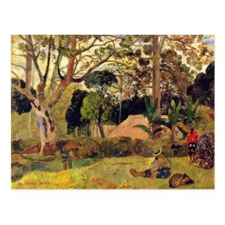 The Big Tree Te Rahi Raau By Gauguin Paul Postcards