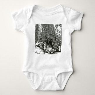 The Big Trees of Mariposa Grove Baby Bodysuit
