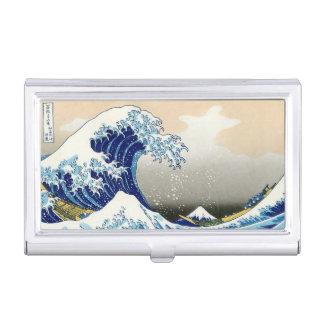 The Big Wave of Kanagawa Hokusai Katsushika art Business Card Holder