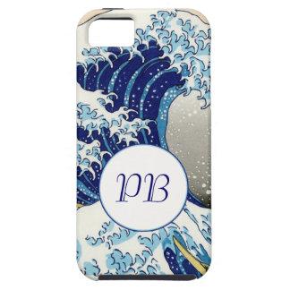 The Big Wave of Kanagawa Hokusai Katsushika art iPhone SE/5/5s Case