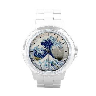 The Big Wave of Kanagawa Hokusai Katsushika art Watches