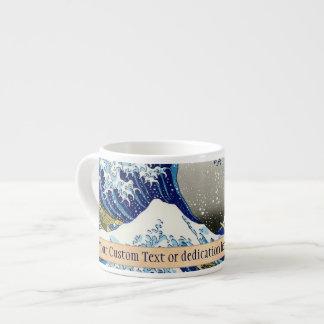 The big wave of Kanagawa Katsushika Hokusai art 6 Oz Ceramic Espresso Cup