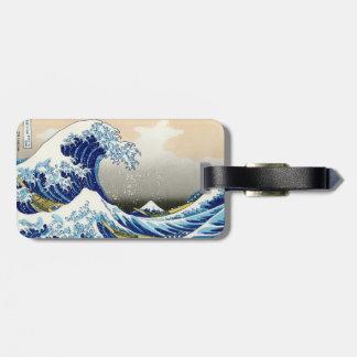 The big wave of Kanagawa Katsushika Hokusai Tags For Bags