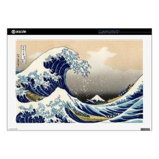 """The Big Wave off Kanagawa, Hokusai Computer Skin 17"""" Laptop Decals"""