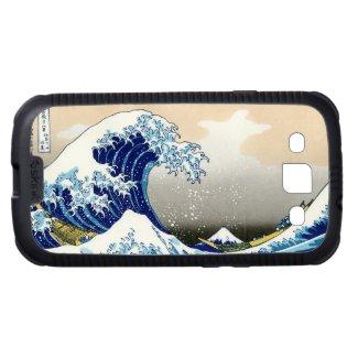The big wave off Kanagawa Katsushika Hokusa Samsung Galaxy S3 Cover
