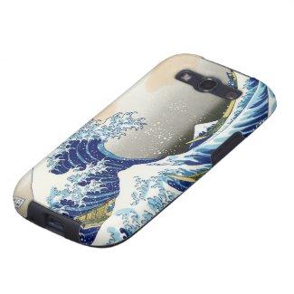 The big wave off Kanagawa Katsushika Hokusai Samsung Galaxy SIII Cover