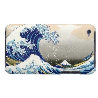 The big wave off Kanagawa Katsushika Hokusai iPod Touch Case