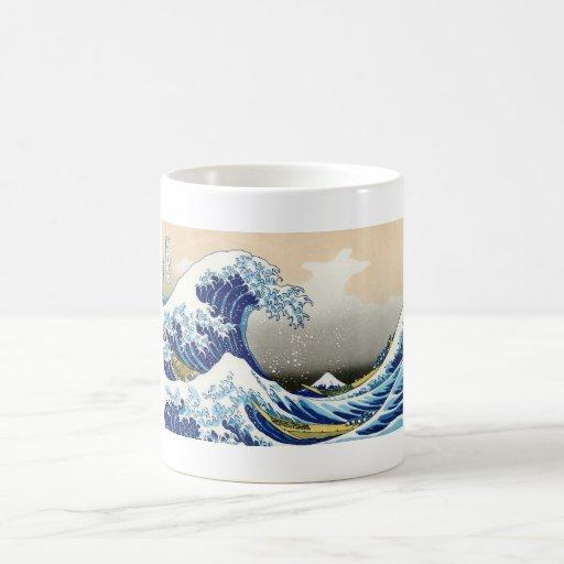 The Big Wave Off Kanagawa Katsushika Hokusai Coffee Mug