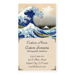 The big wave off Kanagawa Katsushika Hokusai Double-Sided Standard Business Cards (Pack Of 100)
