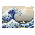 The big wave off Kanagawa Katsushika Hokusai Cover For The iPad Mini
