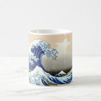 The big wave off Kanagawa Katsushika Hokusai Mug