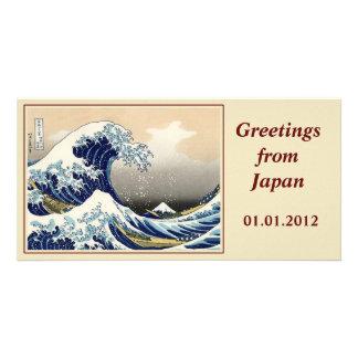 The Big Wave off Kanagawa Photo Card