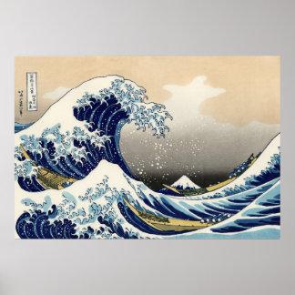 The Big Wave off Kanagawa Poster
