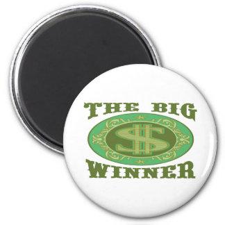 THE BIG WINNER MAGNET
