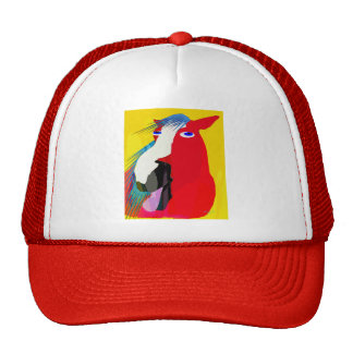 The Big Yawn-Whimsical Horse Collection Trucker Hat