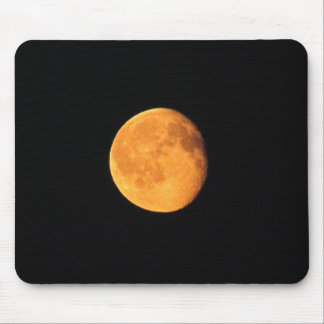 The Big Yellow Moon; No Text Mouse Pad