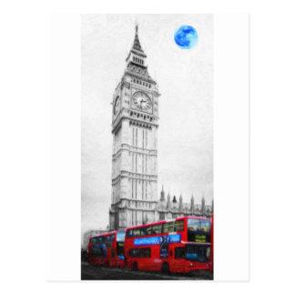 The bigben Tower Postcard