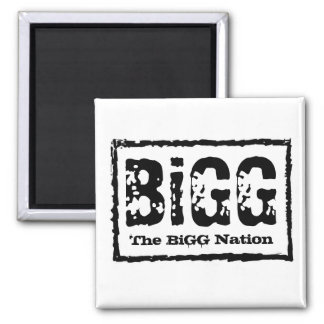 The BiGG Nation 2 Inch Square Magnet