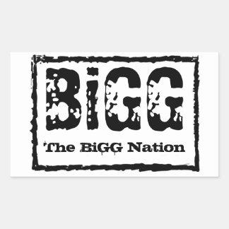 The BiGG Nation Sticker