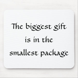 The biggest gift-mousepad