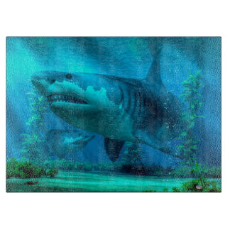 The Biggest Shark Cutting Board