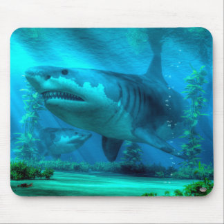 The Biggest Shark Mouse Pad