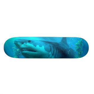 The Biggest Shark Skateboard at Zazzle