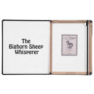 the bighorn sheep whisperer iPad covers