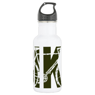 the bike. cycle . cycling stainless steel water bottle