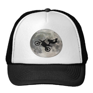 The Bike Jumped Over The Moon Trucker Hat