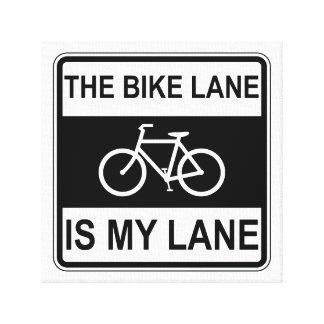 The Bike Lane Sign
