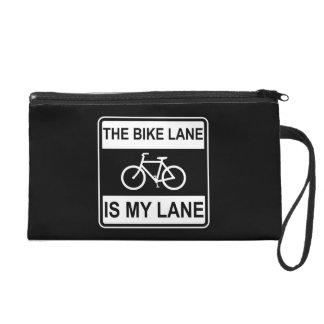 The Bike Lane Sign Wristlet