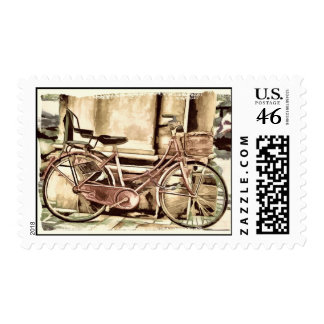 The Bike Postage Stamps