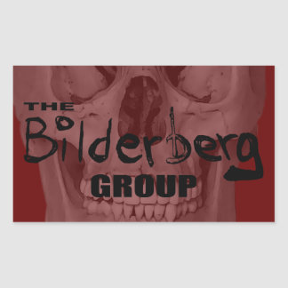 The Bilderberg Group Rectangular Sticker