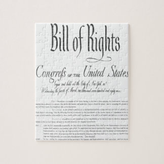 The Bill of Rights Jigsaw Puzzles