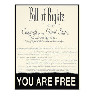 The Bill of Rights Letterhead