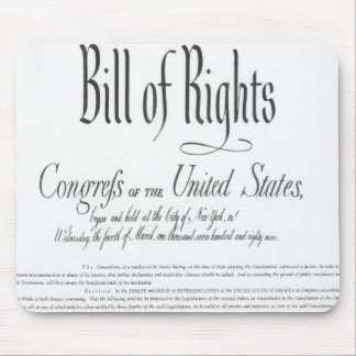The Bill of Rights Mouse Pad