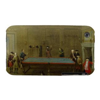 The Billiard Room (oil on canvas) iPhone 3 Case