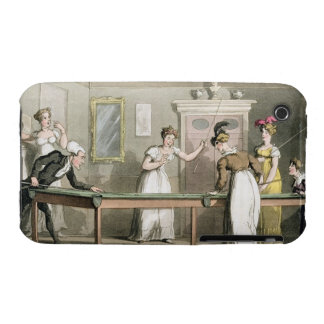 The Billiard Table, from 'The Tour of Dr Syntax in iPhone 3 Case-Mate Case