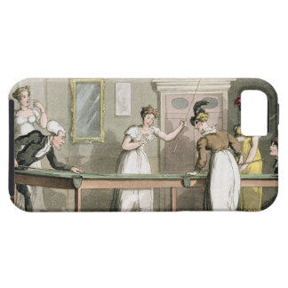 The Billiard Table, from 'The Tour of Dr Syntax in iPhone SE/5/5s Case