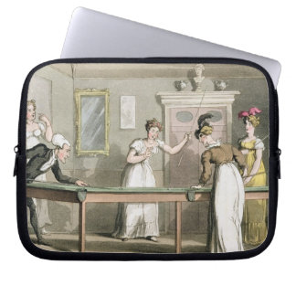 The Billiard Table, from 'The Tour of Dr Syntax in Laptop Sleeve