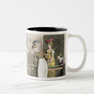 The Billiard Table, from 'The Tour of Dr Syntax in Two-Tone Coffee Mug