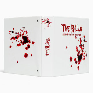 The Bills 3 Ring Binders