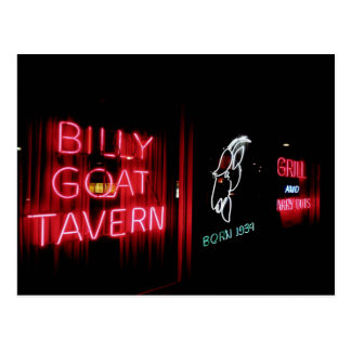 The Billy Goat Tavern, Chicago Postcard
