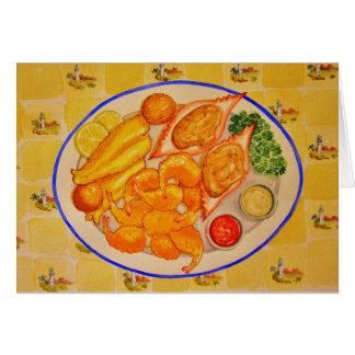 The Biloxi Platter Card